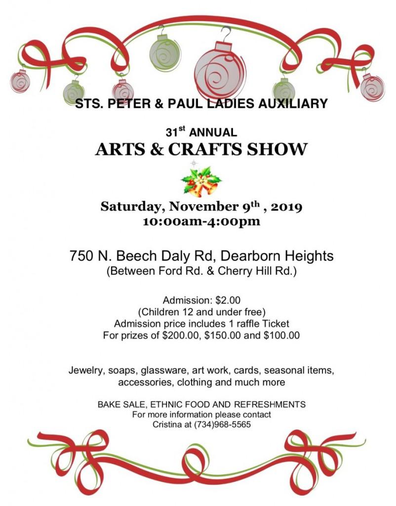 Arts&CraftsShow9NOV19